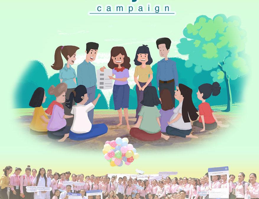 HealhtyStart Campaign, WaterAid Cambodia