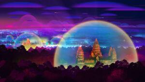 Angkor Wat, Cambodia, future, 20120